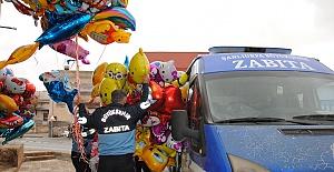 Urfa Zabıtadan Kaçak Balon Üretim Tesisine Operasyon