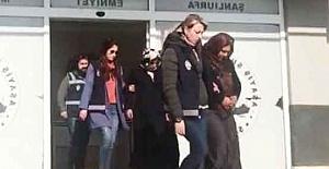 Urfa'da kadın yankesiciler kıskıvrak yakalandı
