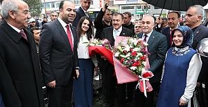 Bakan Eroğlu ve Fakıbaba Şanlıurfa Büyükşehir Belediyesini Ziyaret Etti