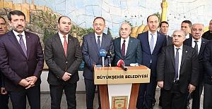Bakan Özhaseki: Urfa'da güzel bir belediyecilik örneği var