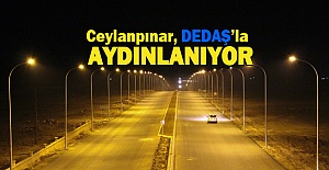 DEDAŞ'tan Ceylanpınar cadde ve sokaklarına 1 milyonluk yatırım