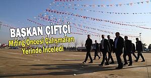 Erdoğan 11 Nisan Spor Salonunda Urfalılara Seslenecek