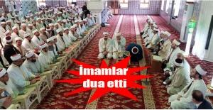 Şanlıurfa'da imamlar duaya çıktı