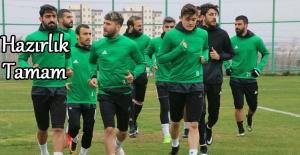 Şanlıurfaspor Konya Anadolu Selçukspor maçına hazır