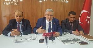SP İl Başkanı Yanmaz'dan dikkat çeken çağrı