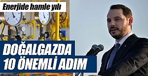Türkiye doğalgazda da ticaret merkezi oluyor