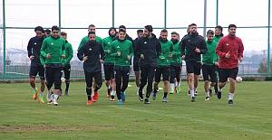 Urfaspor Kırklarelispor maçı öncesi taktik çalıştı