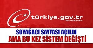Yeniden açıldı! e-Devlet Soy bilgisi...