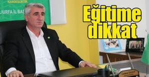 HÜDA PAR İl Başkanı Yalçın'dan eğitim uyarısı