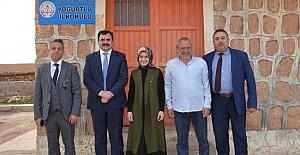 Şerafettin Turan'ın Köy Okulu Ziyaretleri Devam Ediyor