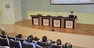Teknik Bilimler MYO'da 'Avrupa'da Enerji Politikaları ve Arge Çalışmaları' konferansı