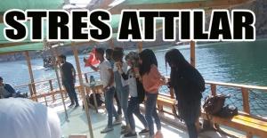 Urfa'daki yabancıların Halfeti keyfi