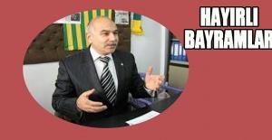 Başkan Mehmet Altun#039;dan bayram...