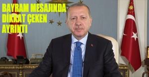 Erdoğan#039;ın bayram mesajında...