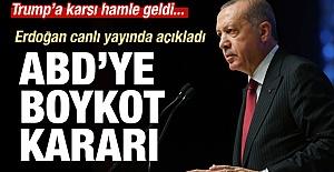 Erdoğan#039;nın Boykot çağrısı...