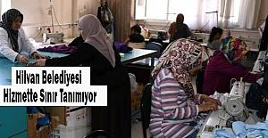 Hilvan#039;da kadınlara meslek öğretiliyor