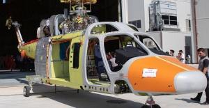 İlk özgün, helikopterimiz T625 uçuşa...