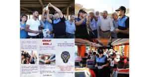 Şanlıurfa'da Polis halkı sahte para ve hırsızlık konusunda bilgilendirdi