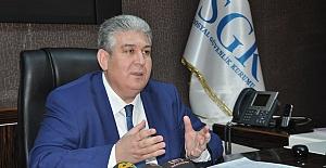 SGK İl Müdürü Ünlü önemli Yapılandırma açıklaması