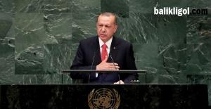 Birleşmiş Milletler'de konuşan Cumhurbaşkanı Erdoğan, adil bir dünya çağrısı yaptı
