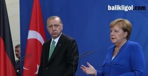 Erdoğan - Merkel basın toplantında konuştu