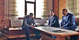 Başkan Baydilli TBMM Başkanı Yıldırım#039;la...