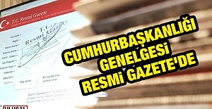 Erdoğan#039;dan Son Dakika Genelgesi:...