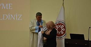 Harran Tıp Fakültesinde 'Beyaz Önlük' Giyme Töreni