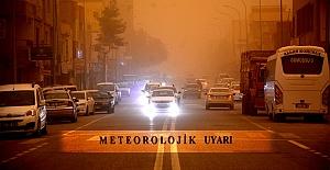 Meteoroloji'den Toz Taşınımı Ve Çamur Uyarısı