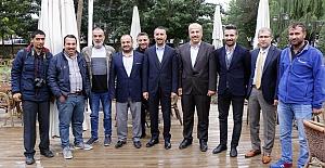 Siverek Belediye Başkanı Gazeteciler ile kahvaltıda buluştu
