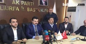 AK Parti İl Başkanı Bahattin Yıldız,...