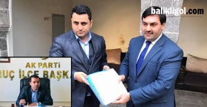 Ak Parti Suruç ve Siverek ilçe Başkanları...