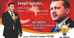 Furkan Yetim Karaköprü Belediye Başkan...