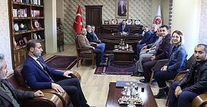 Gazetecilerden Urfa Başsavcı Öztoprak'a Ziyaret