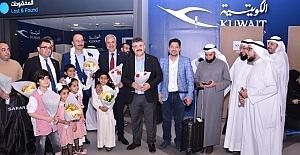 Şanlıurfa'dan Kuveyt'e çıkartma yaptılar
