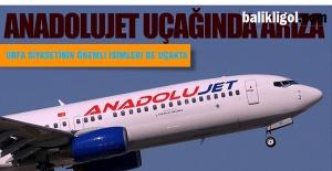 Urfa-Ankara Seferi Yapan Uçak Arıza...