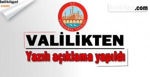 Urfa Valiliğinden Son Dakika açıklaması:...