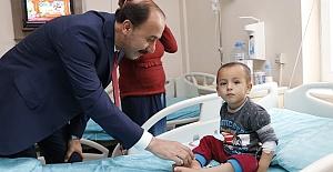 Vali'den Bozova Devlet Hastanesine ziyaret
