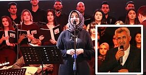 Büyükşehir Belediyesi Türk Halk Müziği Korosu İlk Konserini Verdi
