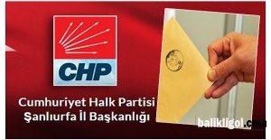 CHP'nin Suruç Belediye Başkan Adayı belli oldu