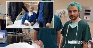 Gırtlak kanseri ameliyatı başarıyla yapıldı