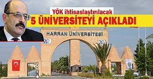 Harran Üniversitesi Hangi Alanda İhtisaslaşacak?...