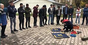 HRÜ'de Öğrencilere Sivil Savunma Eğitimi