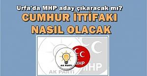 MHP AK Parti İttifakı Urfa#039;da...