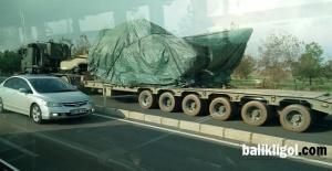 Şanlıurfa 20'inci Zırhlı Tugayından askeri sevkiyat