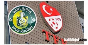 Şanlıurfaspor'a PFDK'dan Özel Güvenlik Cezası
