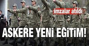 Aile Bakanlığı askeri eğitime el attı