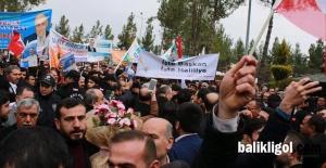AK Parti Şanlıurfa Belediye Başkan adayları coşkuyla karşılandı