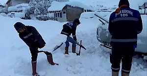 Kar Siverek#039;te de Etkisini Gösterdi