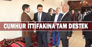 Mahmut Özyavuz AK Parti Aday Adaylarından Destek aldı